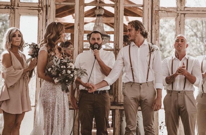 Karas Party Ideas Coachella Inspired Seaside Wedding