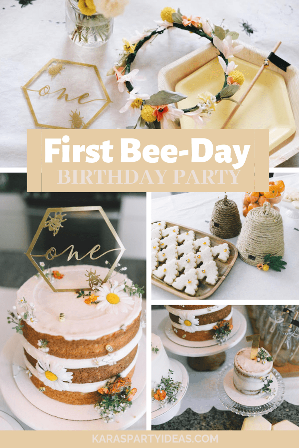 first bee day birthday party