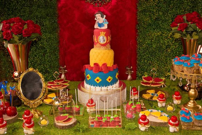 party ideas snow white birthday party