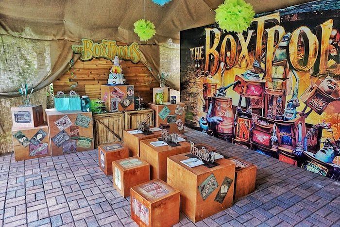 Box Troll Birthday Party on Kara's Party Ideas | KarasPartyIdeas.com (4)