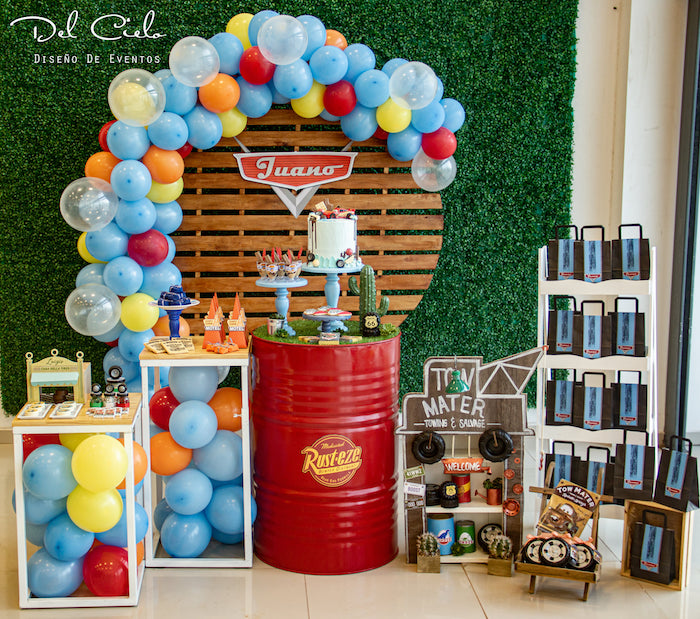 Cars + Radiator Springs Birthday Party on Kara's Party Ideas | KarasPartyIdeas.com (23)