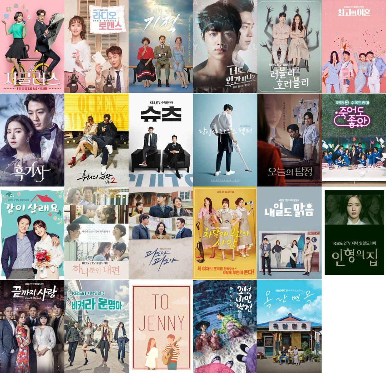2018年KBSドラマ