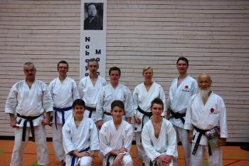 Erster Karate-Lehrgang 2013 mit Shihan Ochi in Tamm
