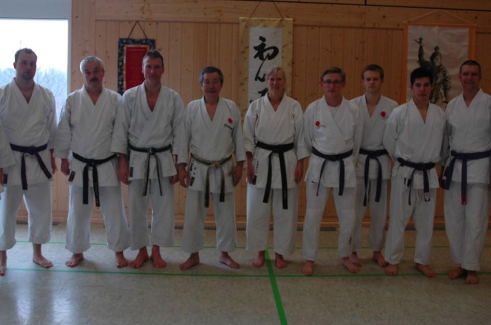 Karatelehrgang mit Shihan Kazuhiro Sawada am 6. April 2013
