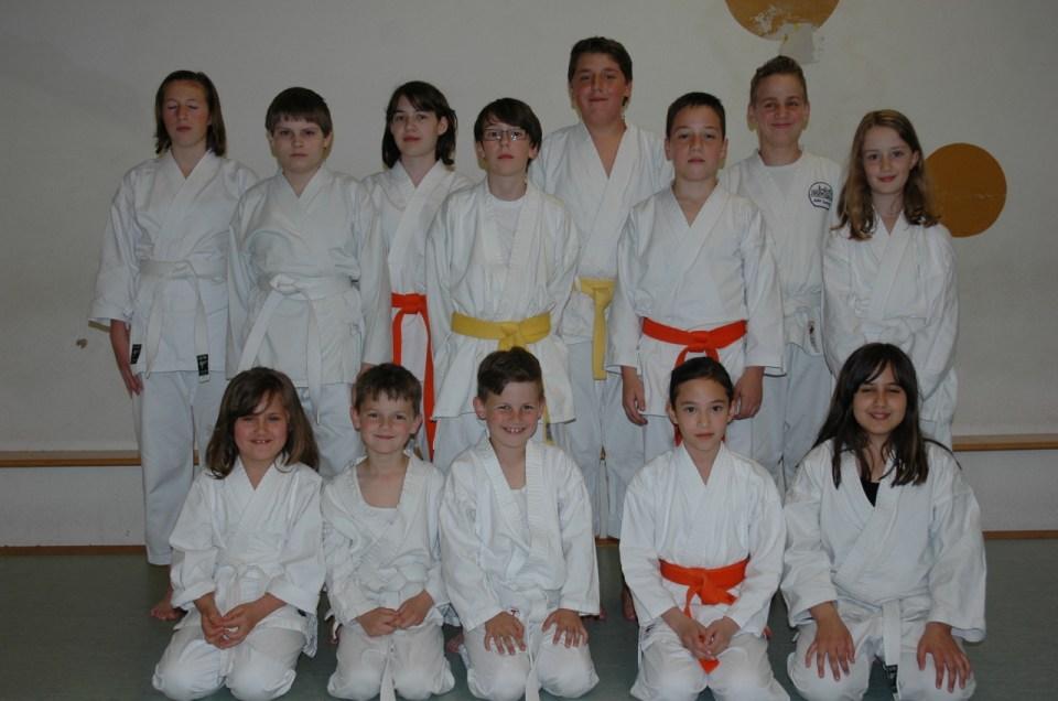 Kyu-Prüfungen für Kids am 15. Mai 2013