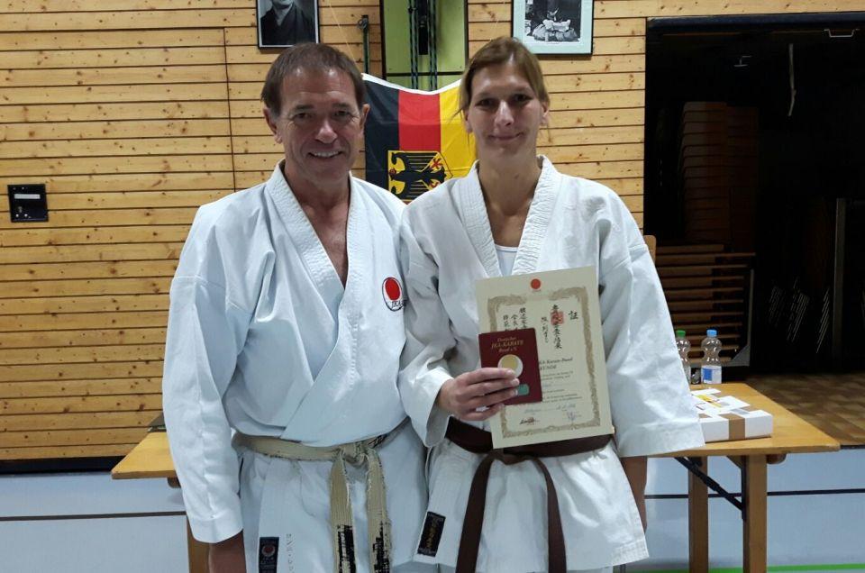 Lorcher Karateka- Teilnahme  an einem  Karate Lehrgang in Remseck bei Stuttgart