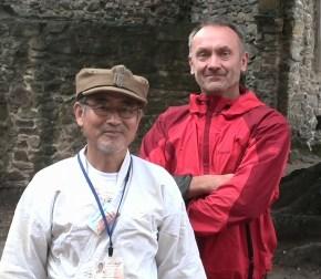 Pan Hiroshi Kojima i Prezes BKK Tsunami Rafał Kociemski.