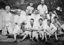 Uczestnicy zgrupowania Grabina m.in. Piotr Anisimowicz, Paweł Jarocki, Grzegorz Modrzejewski, Marek Piekarski, Grzegorz Giełdon, Rafał Kociemski, Tomasz Marynowski (lipiec 1988 roku)