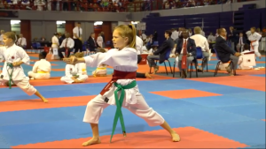 SA JKA National Championships 2019 -Green Belt Kata