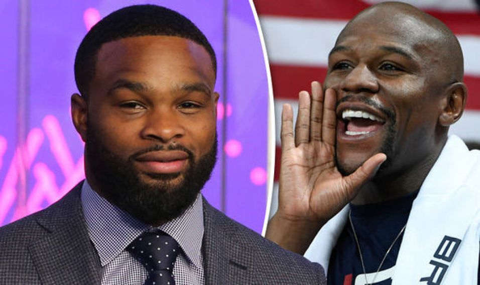 Floyd Mayweather wants to train Tyron Woodley for Jake Paul fight.