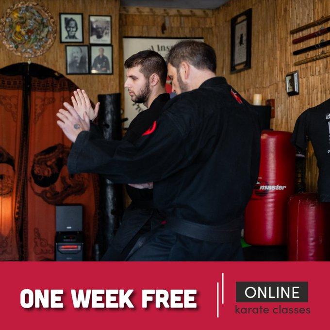 online karate class