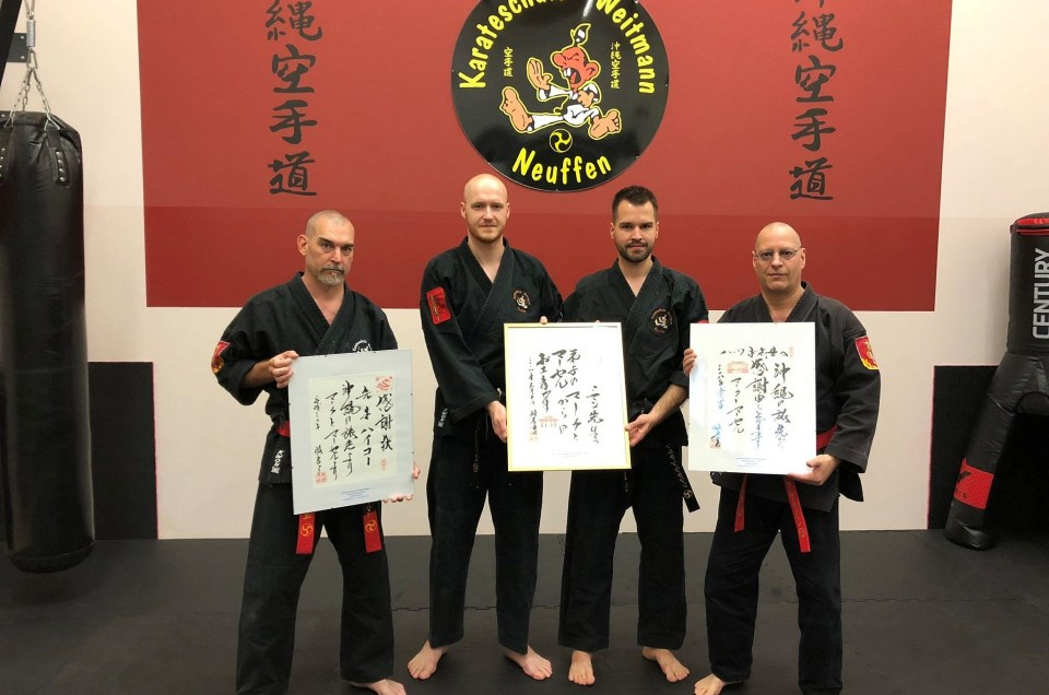 Besuch bei Hokama Sensei auf Okinawa