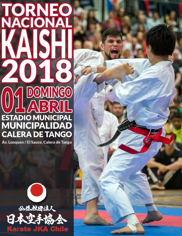 """Participación en Torneo Nacional J.K.A """"Kaishi"""" 2018"""