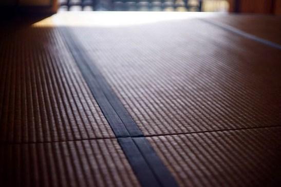 Suelo de tatami