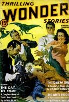 1940-11 Thrilling Wonder Stories by Earle Bergey