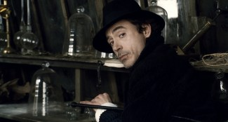 """SHH-FP-010 ROBERT DOWNEY JR. as Sherlock Holmes in Warner Bros. Pictures' and Village Roadshow Pictures' action-adventure mystery """"Sherlock Holmes,"""" distributed by Warner Bros. Pictures."""