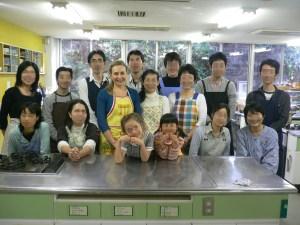 ロシア料理教室カラワイ参加者と