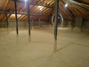 Çatı İzolasyonu Malatya Sprey Poliüratan Köpük Fiyatı 5cm 22 TL.