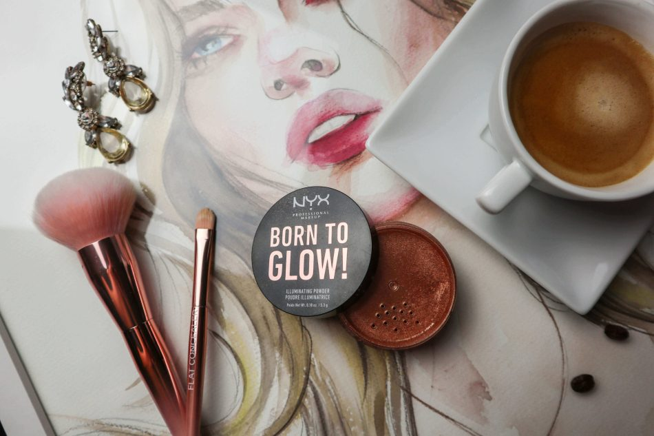 make-up favoriten 2019 kardiaserena nyx professional makeup born to glow illuminating powder