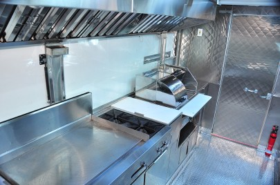 Griddle and oen top burners