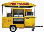 Tamales Cart