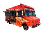 Fried shrimp food truck