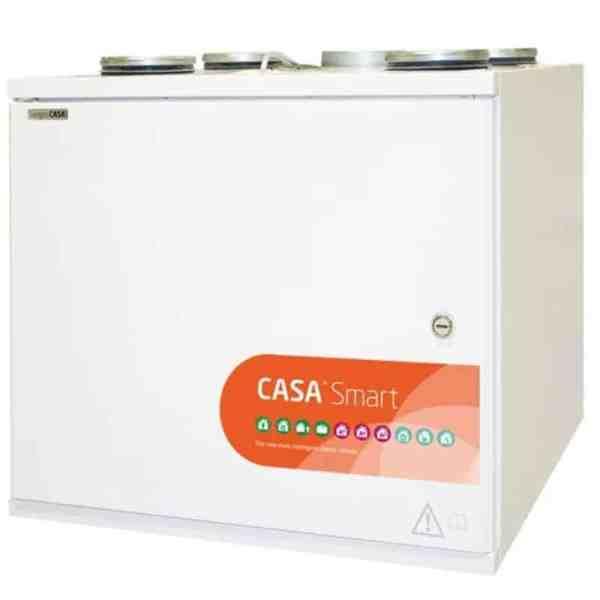 Swegon CASA W4 Smart Econo auto-ohitus RH (Vesipatteri)
