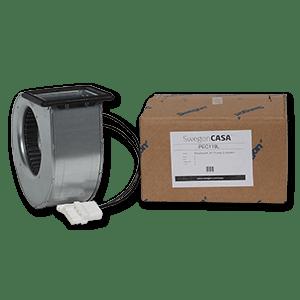 Puhallinpakkaus R-sarjan L-mallin tulo / poisto