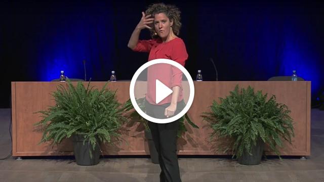 Vidéo conférence violence contre les femmes Karen Chataîgner