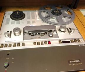 Studer Reel-to-Reel tape recorder