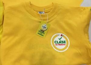 Camiseta Clase de primera. 11 abril