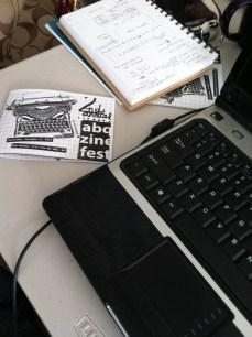 ABQ Zine Fest materials