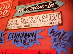 Sarcasm: one of the free services I offer