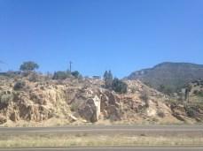 Interesting rock in Carnuel