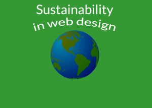Sustainability in web design