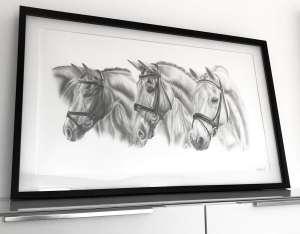 Preis Zeichnung Pferd Zeichnung Pferd im Auftrag