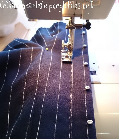 16 sewing in busk