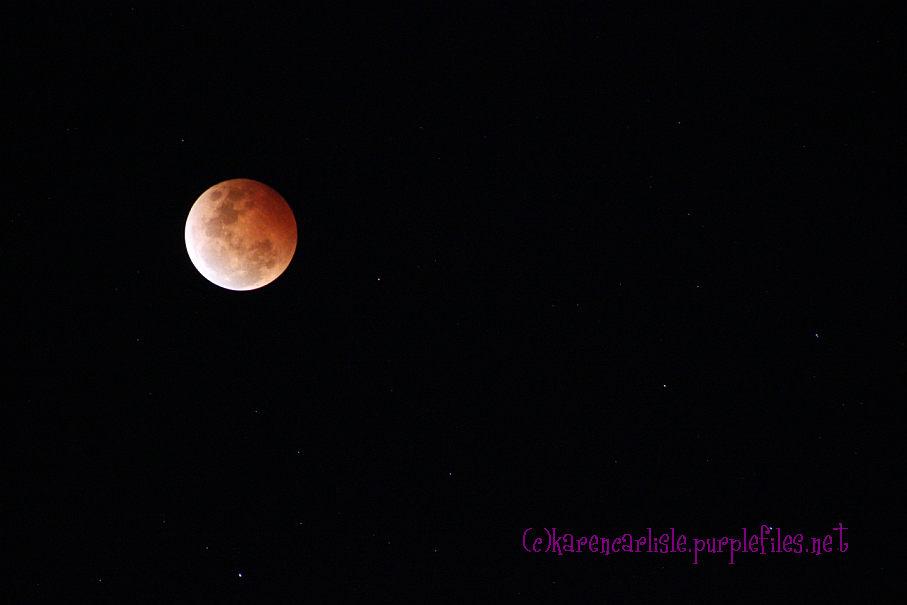 blood moon Karen Carlisle c 2014