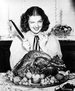 thanksgiving+vintage+ann+sheridan+turkey