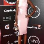 Volleyball Player Destinee Hooker at the 2015 ESPYs Awards