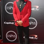 New York Giants Wide Reciever Odell Beckham Jr. at the 2015 ESPYs Awards