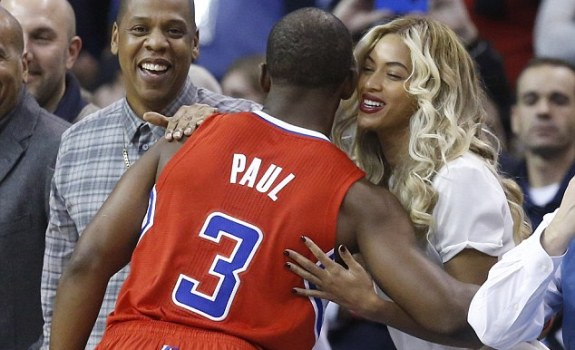 chris paul jay z beyonce