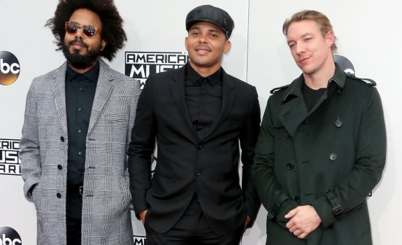 Major Lazer 2016 AMAs