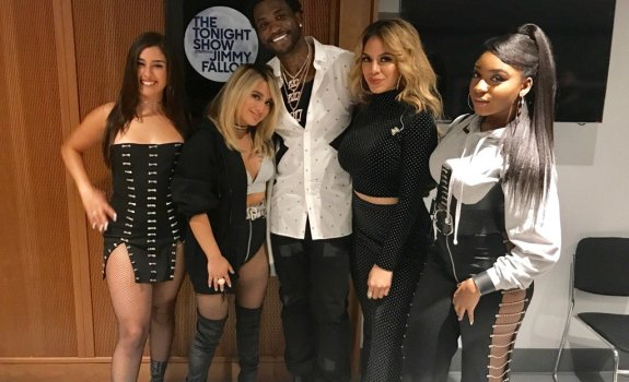 Fifth Harmony Gucci Mane The Tonight Show Starring Jimmy Fallon