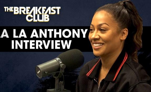 lala anthony breakfast club