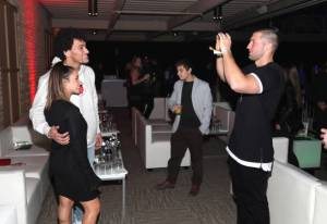 tim tebow aly raisman at TIDAL X: Rolling Stone Live