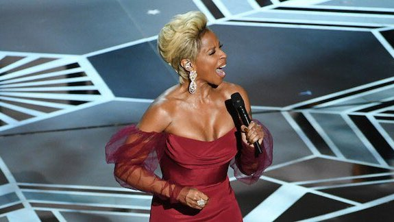 Mary J. Blige Mighty River Oscars Performance