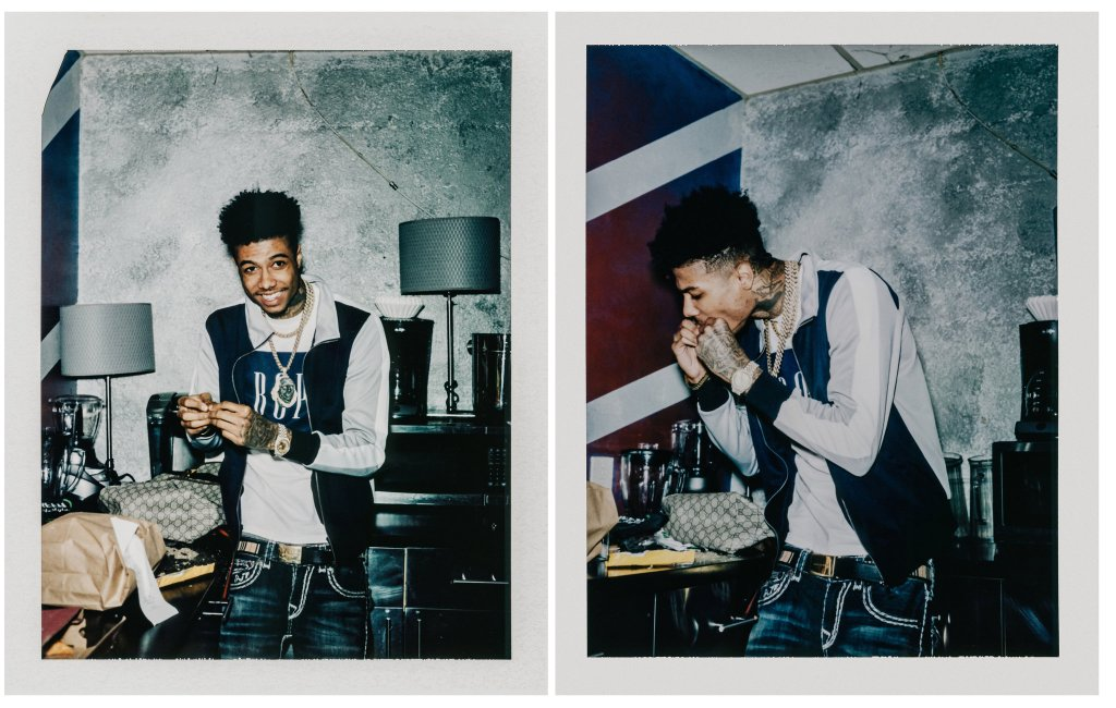 Blueface Featured In The New York Times Art & Leisure Section