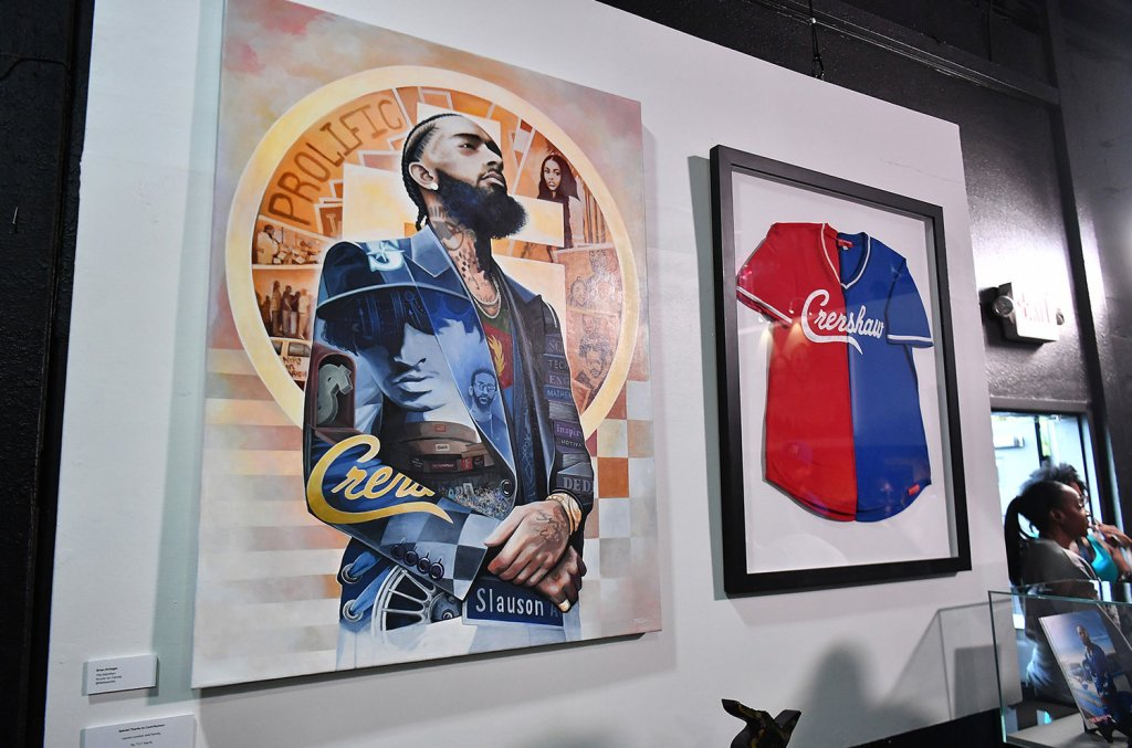 TI UNVEILS NIPSEY HUSSLE EXHIBIT WITH THE SUPPORT OF FAMILY AND FRIENDS