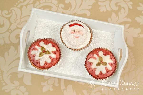 Cupcake Top - Christmas Pudding Mould